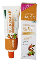 JASON NutriSmile Enamel Defense Anti-Cavity Toothpaste, 4.2 Ounce Tubes
