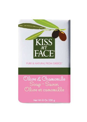 Kiss My Face Bar Soap Olive and Chamomile -- 8 oz