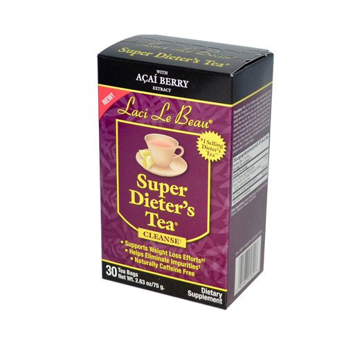 Laci Le Beau Super DieterS Tea With Acai Berry Extract - 30 Tea Bags