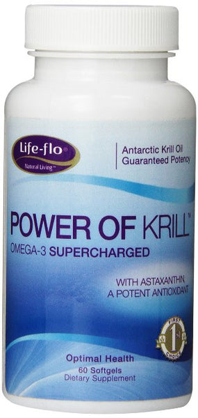 Life-Flo Power of Krill, 60 Softgels