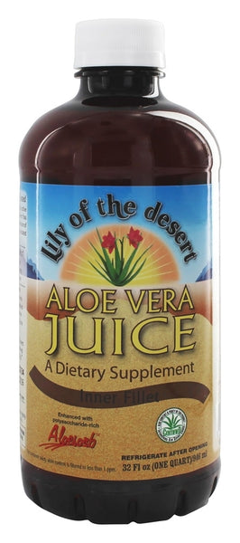 Lily Of The Desert - Aloe Vera Juice Inner Fillet - 32 oz.