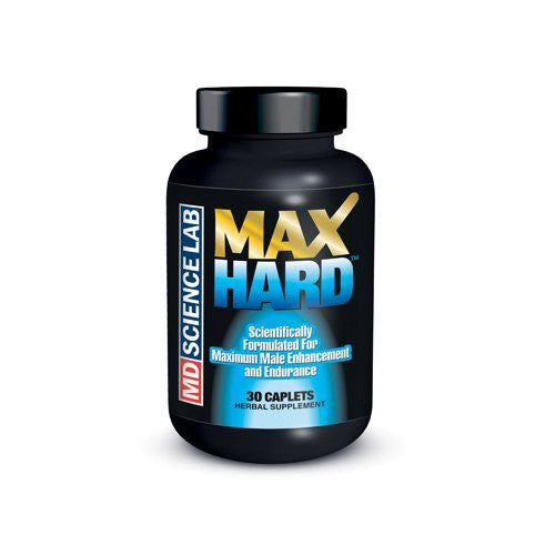 M.D. Science Lab Maxhard Male Enhancement - 30 Caplets