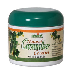 Madina - Natural Cucumber Cream, 4 Oz.