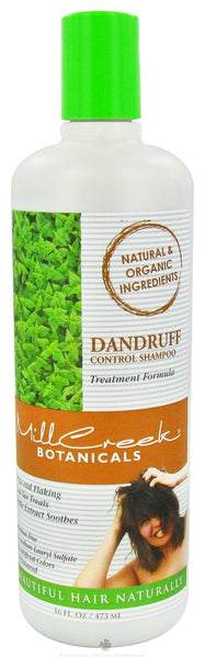 Mill Creek Botanicals - Dandruff Control Shampoo - 16 oz.