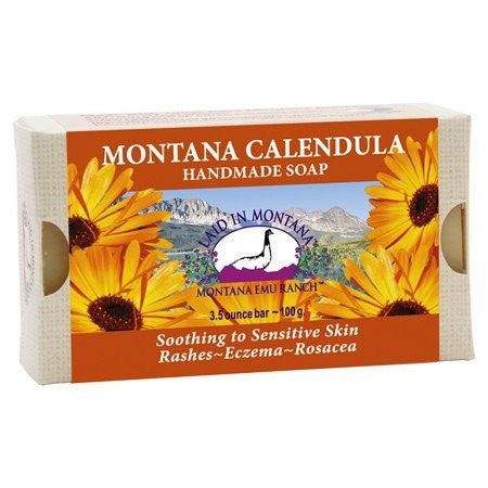 Montana Calendula Soap Laid In Montana 3.5 oz Bar