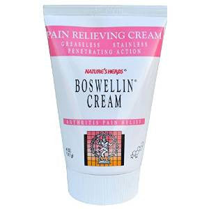 Nature S Herbs Boswellin Cream  Oz