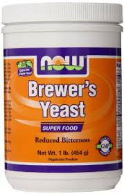 NOW Foods Brewer's Yeast, 1 Pound