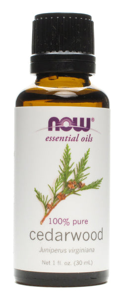 NOW Foods Cedarwood Oil, 1 ounce