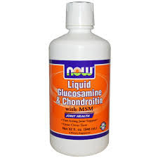 Now Foods Liq Glucos/Chondroitin, 32-Ounce