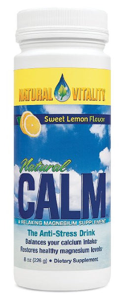 Natural Vitality Natural Calm Lemon 8 oz