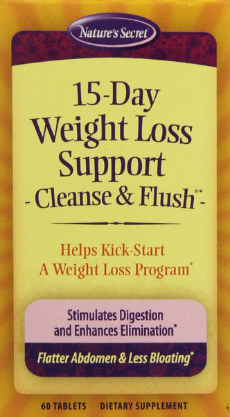 Nature's Secret 15-Day Weight Loss Support 60 Tablets