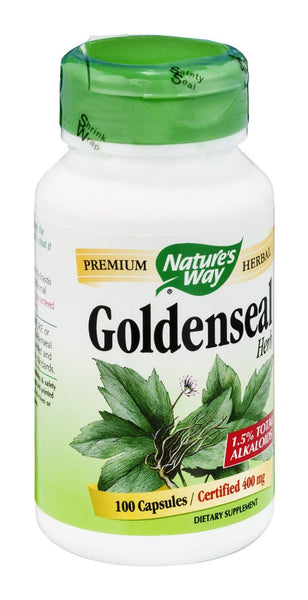 Nature's Way Goldenseal Herb, 100 Capsules