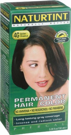 Naturtint, Permanent Hair Colorant, 4G Golden Chestnut, 5.28 fl oz (150 ml)