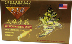 Prince of Peace American Ginseng Root Candy Gold Gift Box 8 oz
