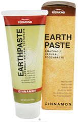 Redmond Trading - Earthpaste Amazingly Natural Toothpaste Cinnamon - 4 oz.