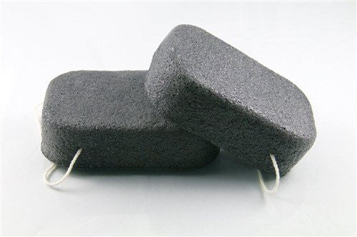 Dr Sponge Facial and Body Cleansing Sponge, Charcoal