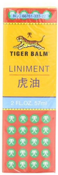 TIGER BALM LINIMENT, 2 fl. oz