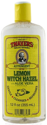 Thayers Lemon Witch Hazel Astringent - 12 oz.