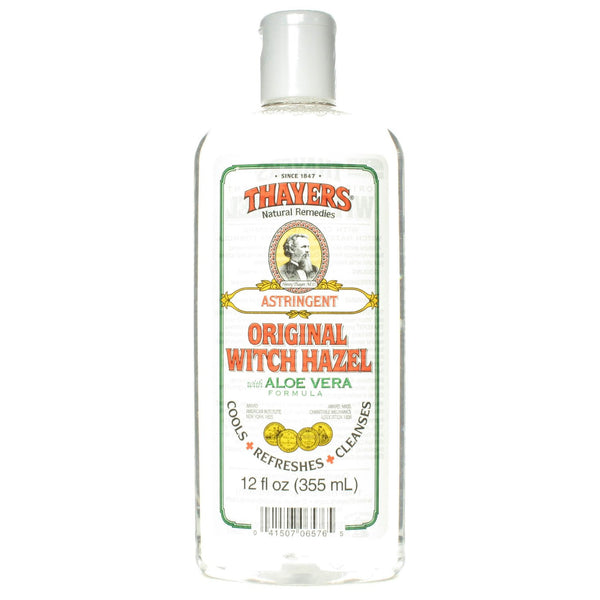 Thayers Original Witch Hazel Astringent with Aloe Vera Formula - 12 oz