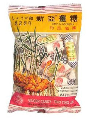 Sina Ting Ting Jahe Ginger Candy