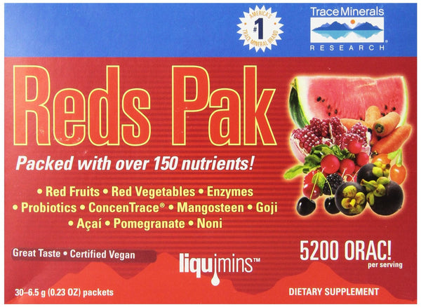 Trace Minerals Research - Reds Pak - 30 Packet(s)