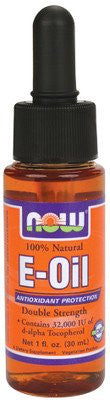 NOW Foods 100% Natural E-Oil, Double Strength