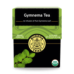 Buddha Teas Herbal Tea Gymnema - 18 bags