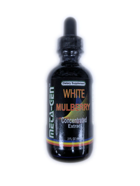 Meta-Gen White Mulberry Concentrated Extract 2 fl oz