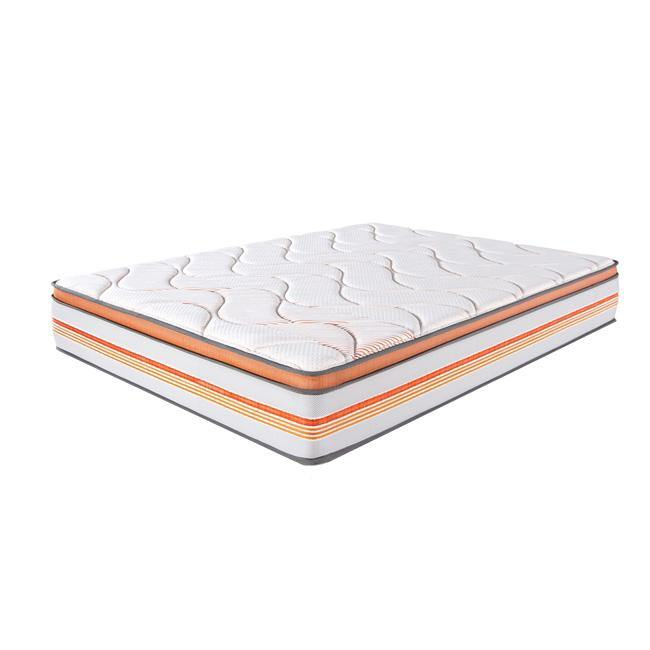 Duroflex NRG20 - Premium Pocketed spring mattress topped with Memory foam