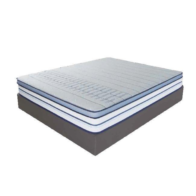Duroflex Posture Perfect - Orthopedic Pocketed Spring mattress topped with Memory foam