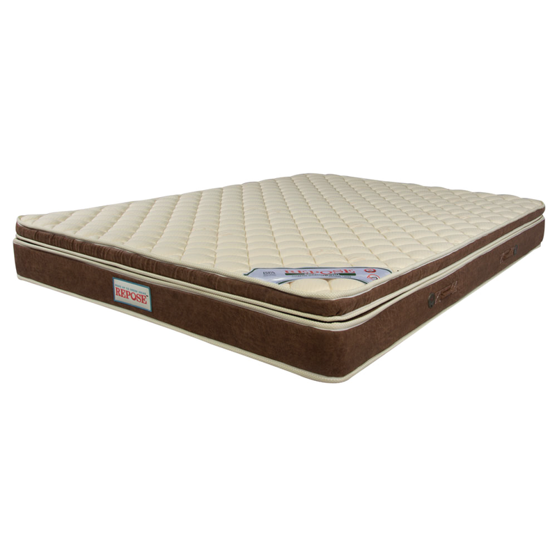 Repose Enviro Pro - Premium pocketed spring mattress with Natural latex top