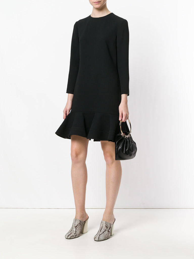 Sunny black beach dress