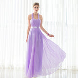 Tie up halter neck gown