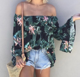 Frankie Black Floral Top