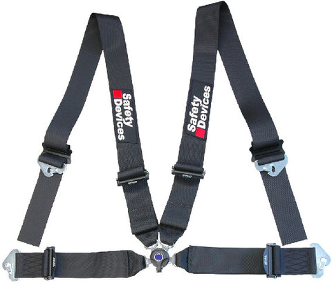 FIA-approved 4-point lightweight harness