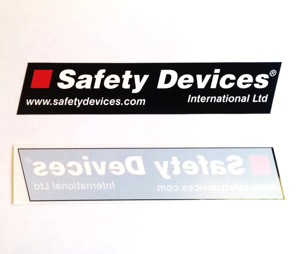 200×40mm window stickers