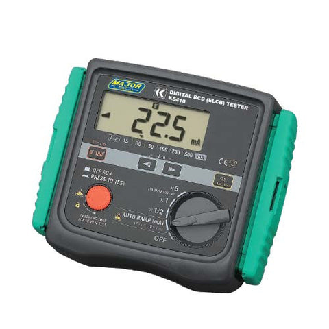 Digital RCD/ELCB Industrial Tester