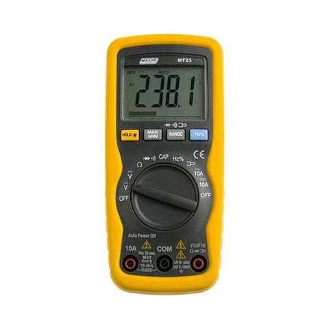 Compact Auto Digital Multimeter - Capacitance