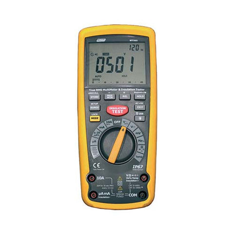 Insulation Tester with True RMS Digital Multimeter