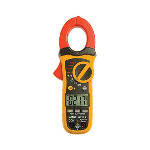 400A Compact AC/DC Clamp Meter