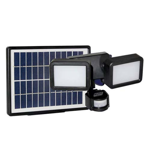Solar Power 8W LED Floodlight with PIR Sensor