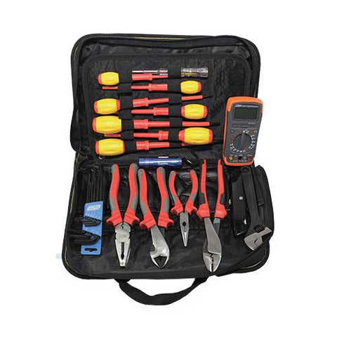 11 Piece Tool Kit with Digital Multimeter