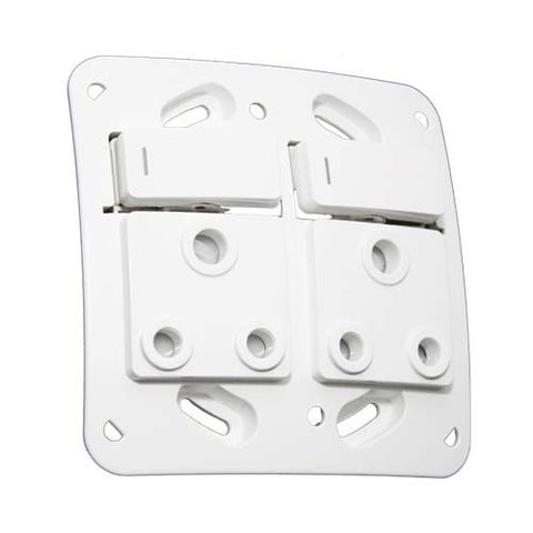 16A Double Switched RSA Socket without cover plate