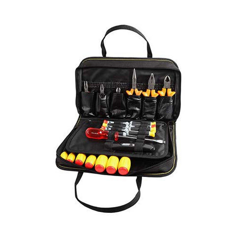 Electricians Tool Kit with Digital Multimeter