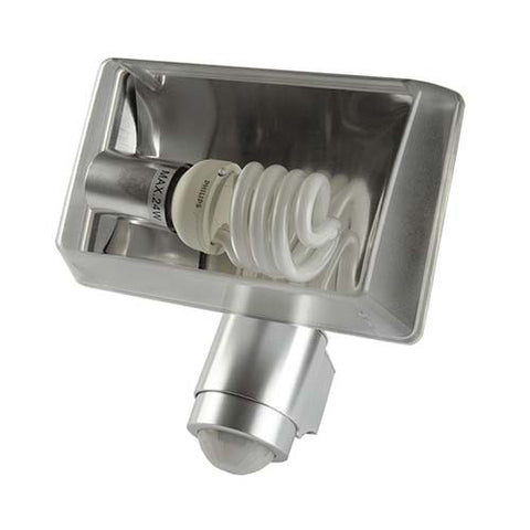 180° Aluminium Security Light CFL