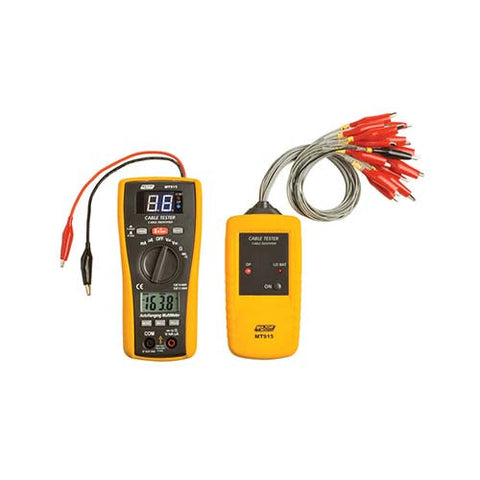 2-in-1 Cable Finder & Digital Multimeter