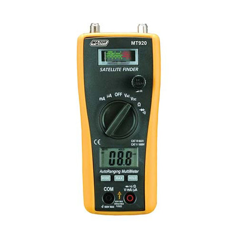 2-in-1 Satellite Finder & Digital Multimeter