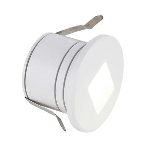 2W SMB Stair Light Cool White Matt White