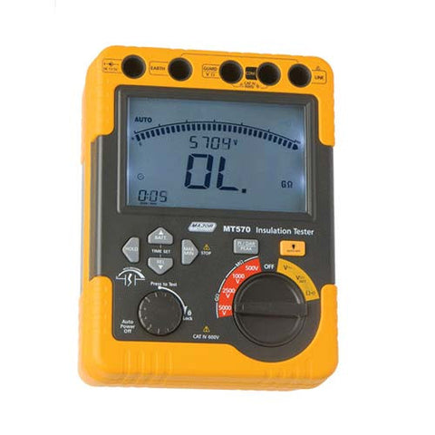 500/1kV/2.5kV/5kV High Voltage Digital Insulation Tester