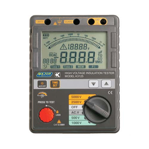 500V to 5kV Digital Insulation Tester